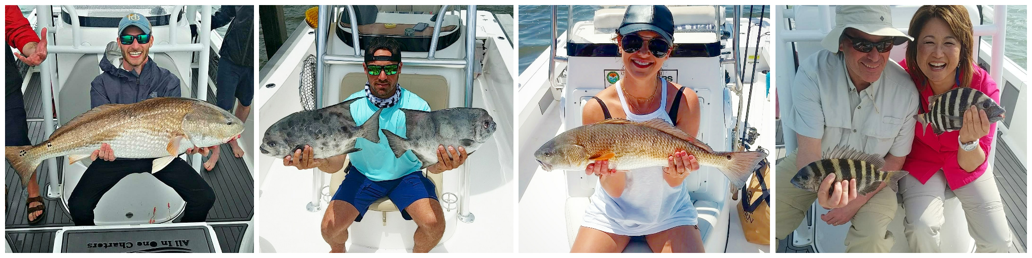 Deep Sea Inshore and Nearshore Fishing in Charleston