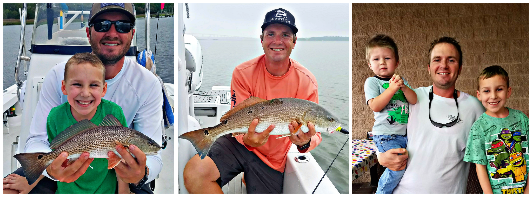 Inshore and Nearshore Fishing Guide, Charleston SC