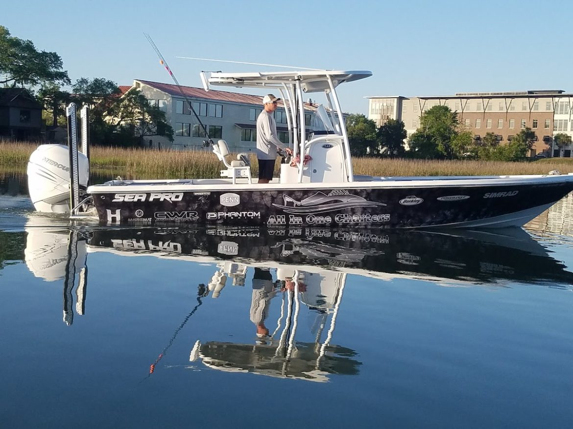 Deep Sea Fishing in Charleston on our 258 SeaPros