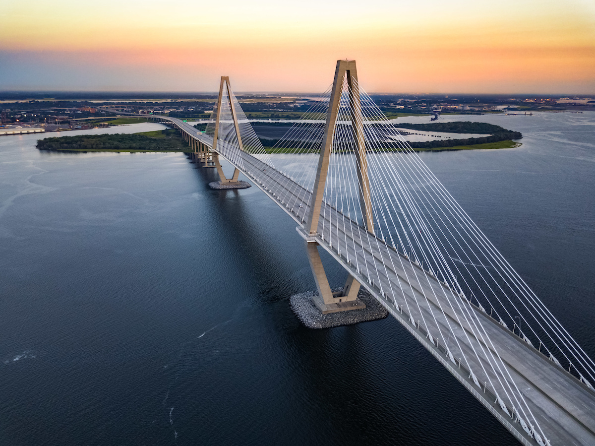 Charter Cable Packages >> Arthur Ravenel Jr. Bridge – The Longest Cable-Stayed Bridge in North America - All in One ...