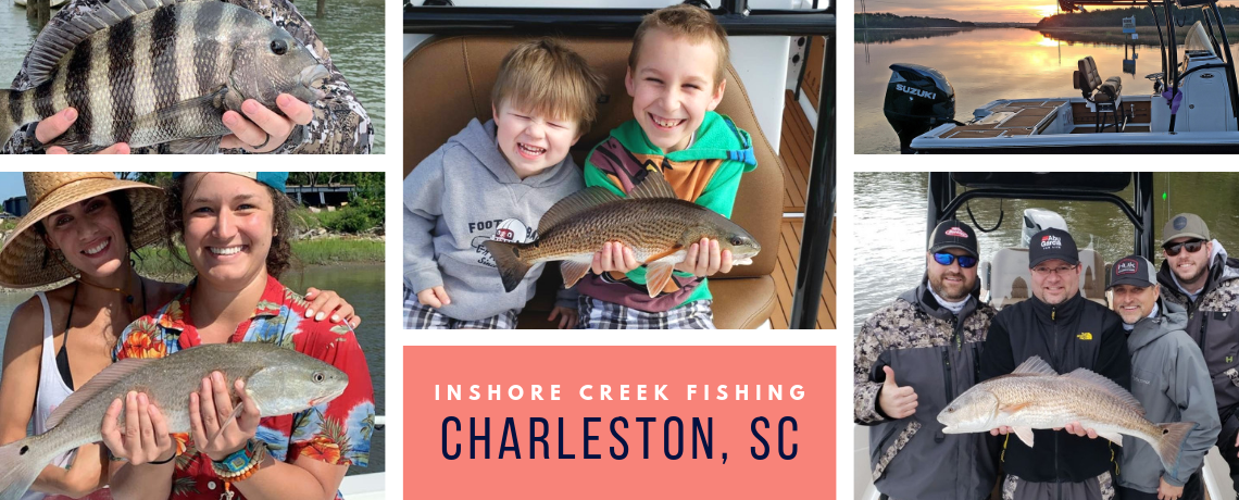 Charleston Inshore Fishing Charter