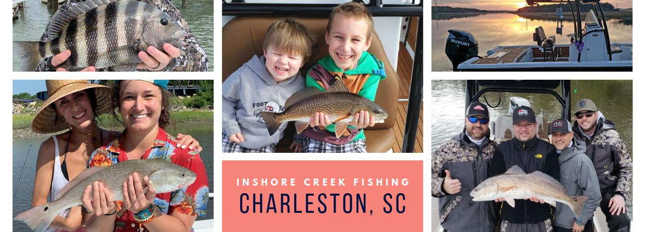 Charleston Inshore Fishing Charter