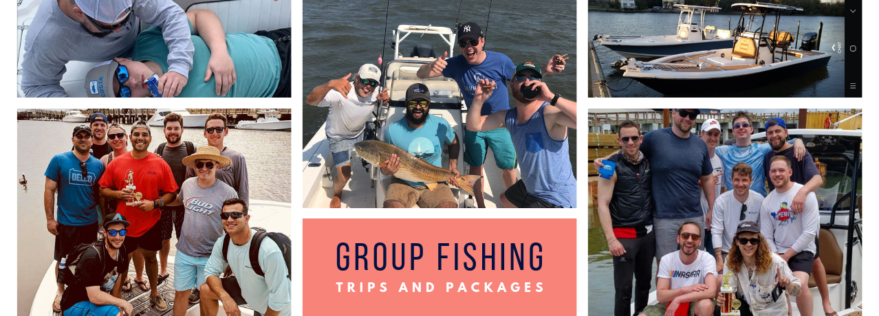Group Fishing Charter in Charleston SC