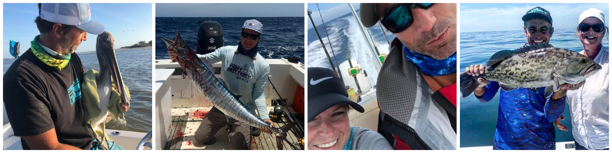 Deep Sea Nearshore and Offshore Fishing Guide - Capt. Justin