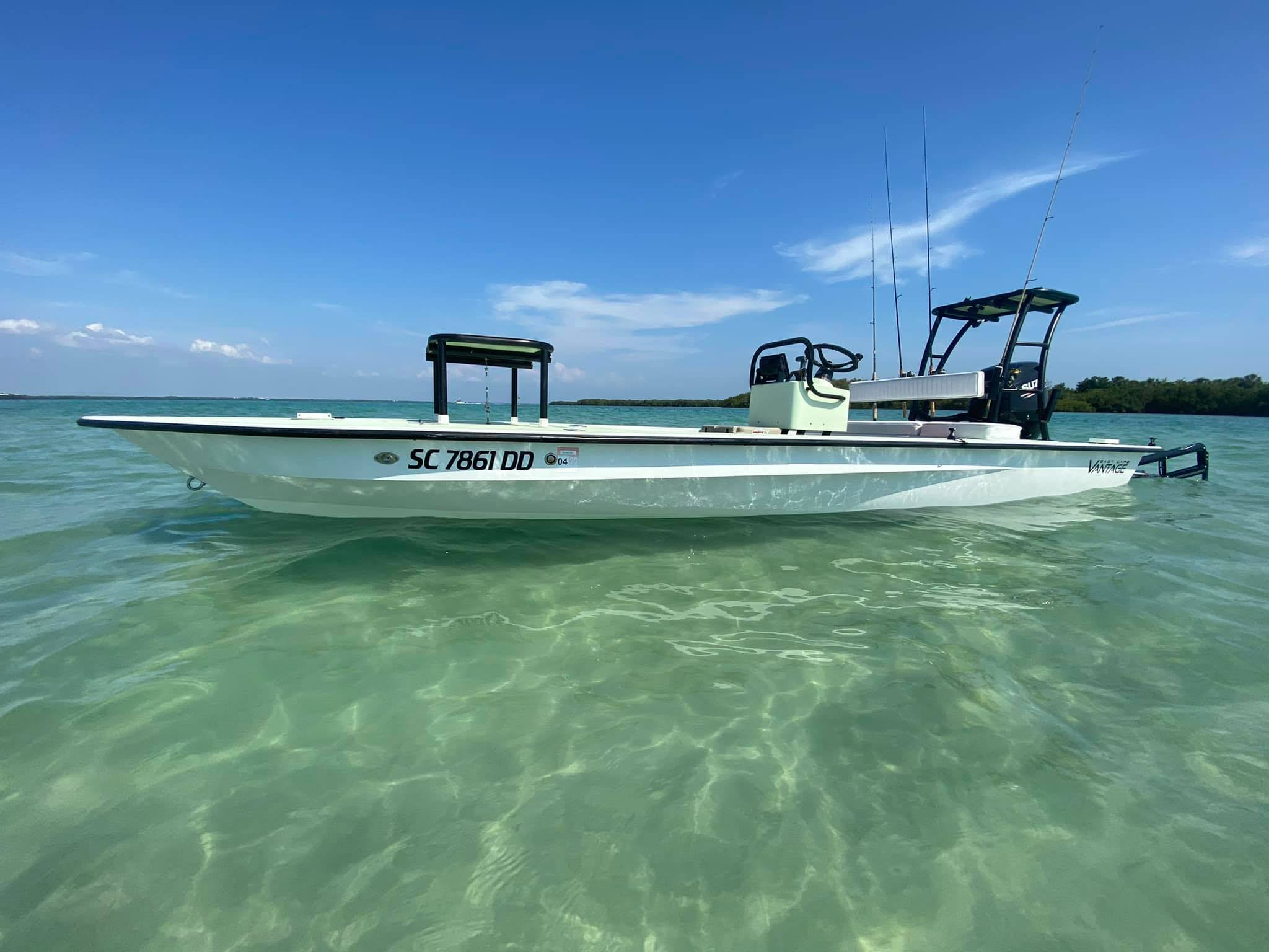Shallow Water Inshore Fishing Charter Machine
